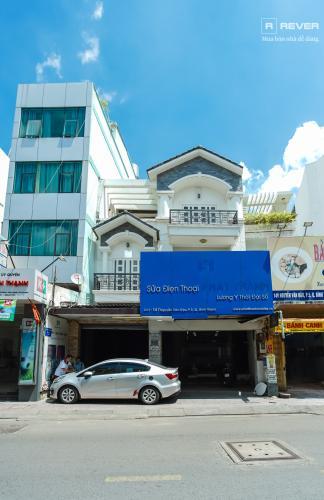 Mặt trước nhà phố Bình Thạnh Cho thuê nhà nguyên căn mặt tiền Nguyễn Văn Đậu, Bình Thạnh, DT 189m2, hướng Đông Nam