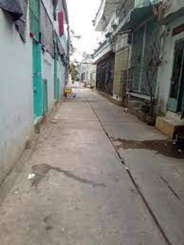 Nhà phố Quận Bình Tân Nhà phố thiết kế 1 trệt, 1 gác đúc chắc chắm, khu dân cư sầm uất.
