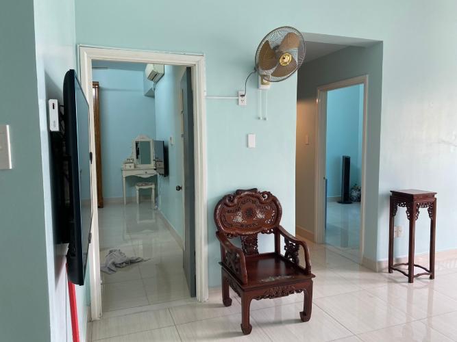 Không gian căn hộ An Viên Apartment, Quận 7 Căn hộ tầng 8 An Viên Apartment hướng Tây Bắc, đầy đủ nội thất.