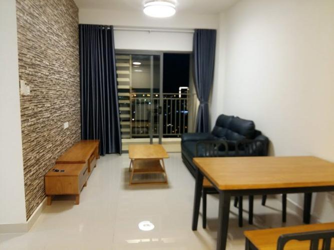 phòng khách căn hộ The Sun Avenue Căn hộ The Sun Avenue tầng 28, đầy đủ nội thất hiện đại.