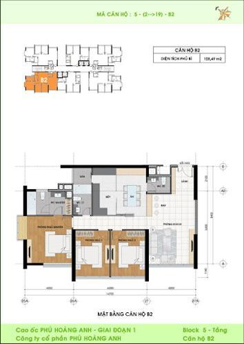 Layout Phú Hoàng Anh, Nhà Bè Shophouse chung cư Phú Hoàng Anh, đầy đủ nội thất.