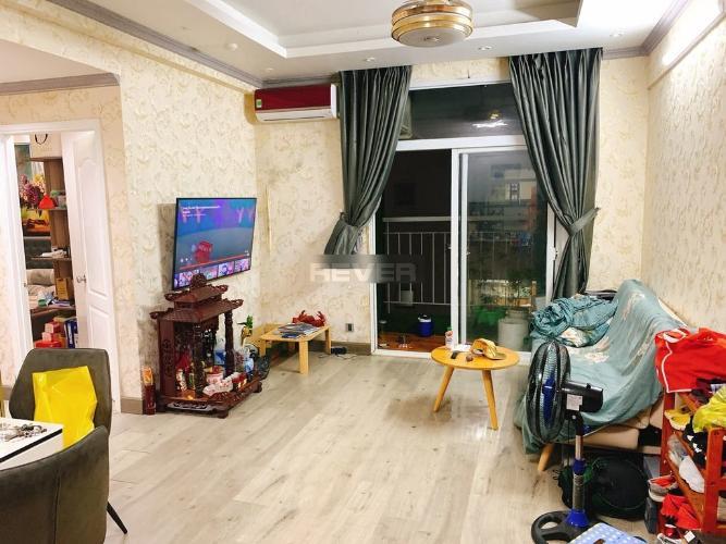 Phòng khách Hưng Ngân Garden, Quận 12 Căn hộ Hưng Ngân Garden ban công hướng Đông, nội thất đầy đủ.