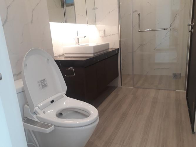 Nhà vệ sinh căn hộ Empire City, Quận 2 Căn hộ Empire City tầng 4 thiết kế 1 phòng ngủ, đầy đủ nội thất.