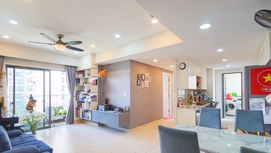 Căn hộ tầng 6 Masteri Thảo Điền view thoáng mát, nội thất cơ bản.