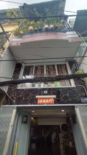 Nhà phố đường ÂU Dương Lân diện tích 16.2m2, có sổ hồng riêng.