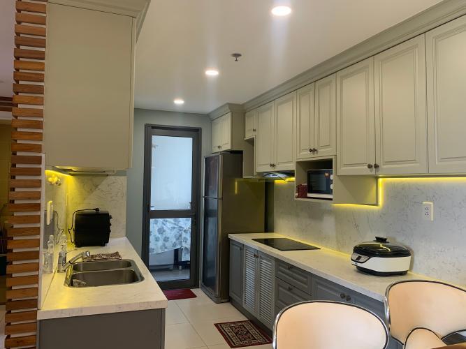 Phòng bếp căn hộ Masteri Thảo Điền, Quận 2 Căn hộ Masteri Thảo Điền tầng cao view thoáng mát, nội thất đầy đủ.