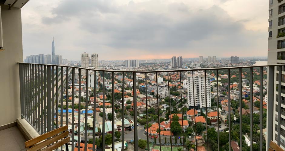 View căn hộ Masteri Thảo Điền, Quận 2 Căn hộ hạng sang Masteri Thảo Điền tầng 29, view Landmark 81 tuyệt đẹp.