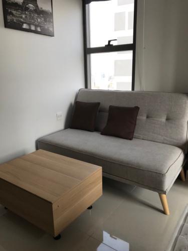 Căn hộ RiverGate Residence, Quận 4 Căn hộ RiverGate Residence tầng 20 thiết kế 1 phòng ngủ, đầy đủ nội thất.