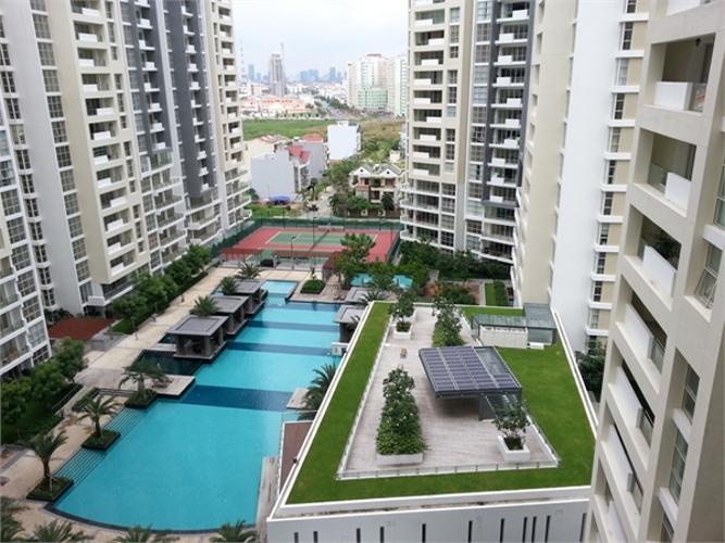 Him Lam Riverside, Quận 7 Căn hộ Him Lam Riverside tầng 15 đầy đủ nội thất, view thành phố.