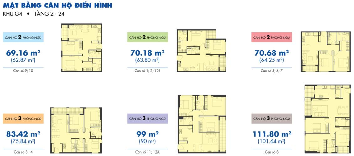 Mặt bằng căn hộ Căn hộ Sunrise Riverside tầng 12, đầy đủ nội thất