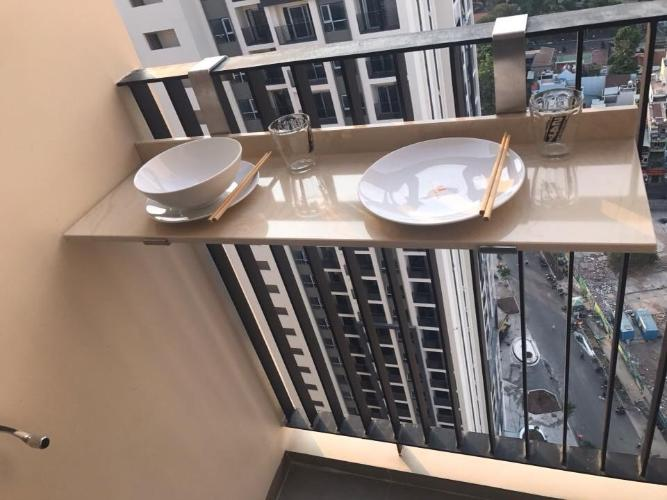 View căn hộ Hado Centrosa Garden , Quận 10 Căn hộ HaDo Centrosa Garden tầng 28, view thành phố thoáng mát.