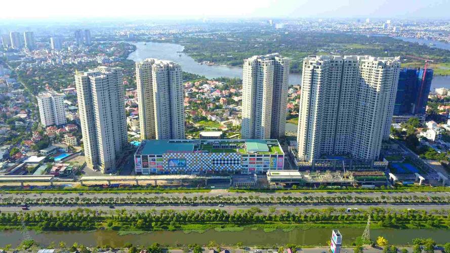 Căn hộ Masteri Thảo Điền, Quận 2 Căn hộ Masteri Thảo Điền tầng 37 có 3 phòng ngủ, đầy đủ nội thất.