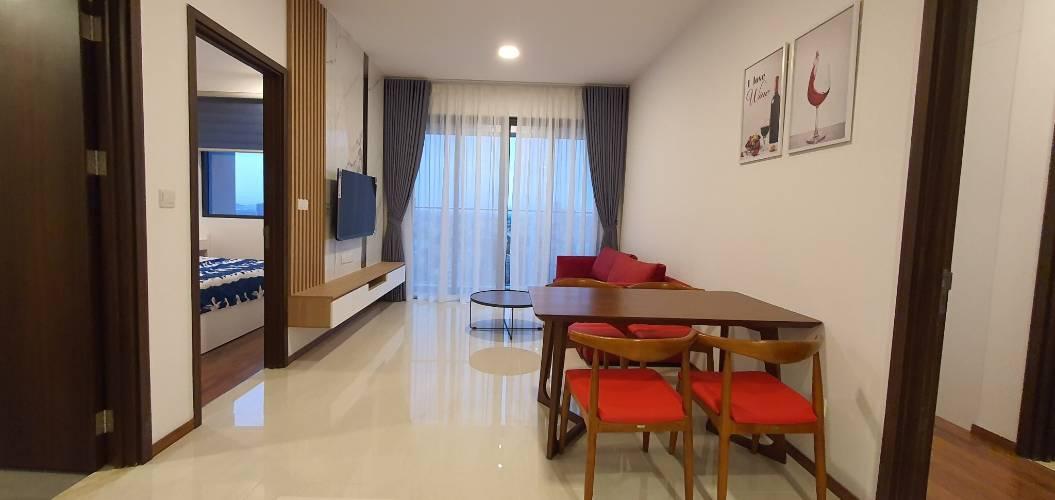Căn hộ One Verandah tầng 16 thiết kế hiện đại, đầy đủ nội thất cao cấp.