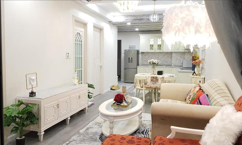 Phòng khách căn hộ Saigon South Residence Căn hộ Saigon South Residence đầy đủ nội thất cao cấp, đủ 3 view.