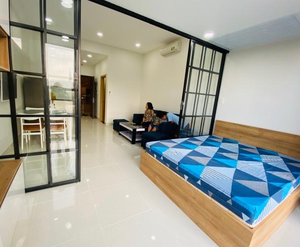 Nội thất căn hộ The Sun Avenue , Quận 2 Căn Officetel The Sun Avenue phòng ngủ rộng rãi, đón gió mát mẻ.