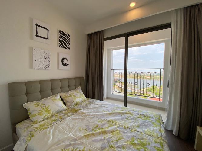Phòng ngủ SaiGon Royal Quận 4 Căn hộ tầng 15 Saigon Royal ban công hướng Đông Bắc nhìn thành phố