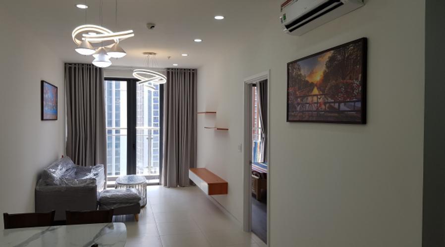 Căn hộ tầng 12 Ascent Lakeside thiết kế kỹ lưỡng, đầy đủ nội thất.