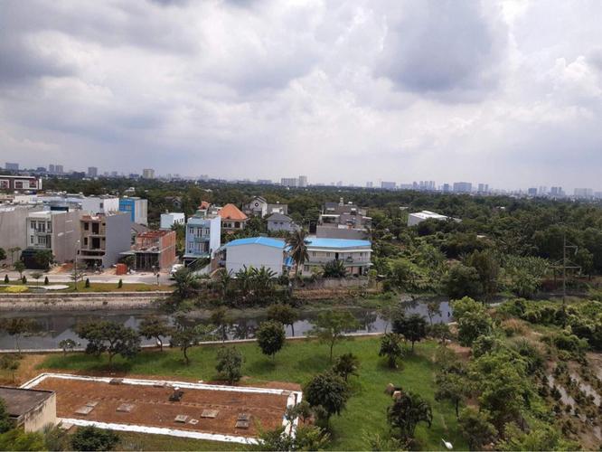 View căn hộ Sunview Town, Quận Thủ Đức Căn hộ Sunview Town tầng 7 diện tích 58m2, ban công hướng Đông Nam.