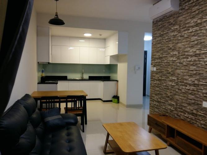 Phòng khách căn hộ The Sun Avenue, Quận 2 Căn hộ The Sun Avenue tầng 28, đầy đủ nội thất hiện đại.