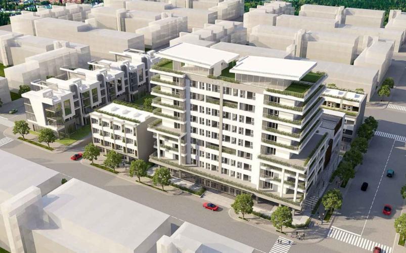 Nhà phố D'verano - Khu Thủ Thiêm Lakeview Nhà phố D'verano có ban công và sân vườn, thiết kế chuẩn quốc tế