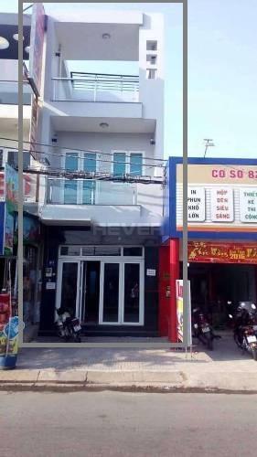 Nhà phố Quận Bình Tân Nhà phố mặt tiền đường M1, diện tích 80m2 không có nội thất.