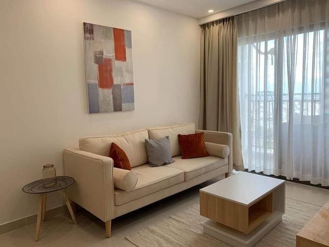 Căn hộ The Sun Avenue, Quận 2 Căn hộ The Sun Avenue tầng 28 cửa hướng Tây Bắc, đầy đủ nội thất.