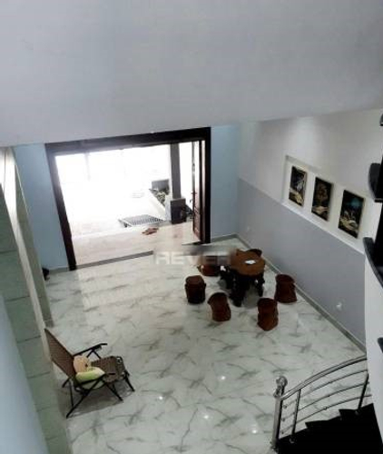 Nhà phố Huyện Củ Chi Nhà phố diên tích 134m2 thiết kế 3 tầng, nội thất cơ bản.