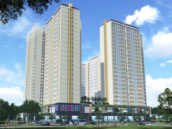 Căn hộ Topaz City, Quận 8 Căn hộ Topaz City tầng 17 thiết kế kỹ lưỡng, đầy đủ nội thất.