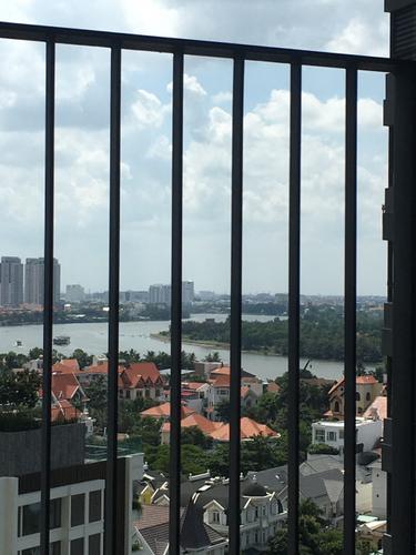 View căn hộ Masteri An Phú, Quận 2 Căn hộ Masteri An Phú tầng 12 view sông thoáng mát, đầy đủ nội thất.