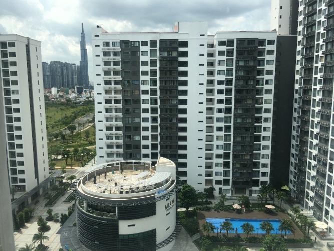 view cảnh New City Thủ Thiêm  quận 2 Căn hộ tầng 14 New City Thủ Thiêm nội thất đầy đủ, view thoáng