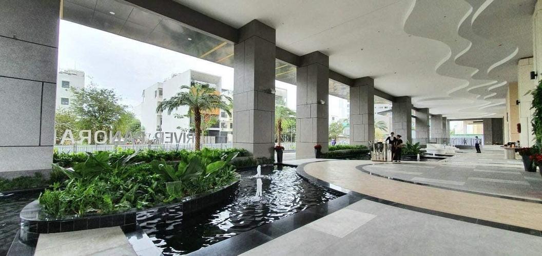 Tiện ích căn hộ River Panorama, Quận 7 Căn hộ River Panorama tầng 31 view đón gió thoáng mát, đầy đủ nội thất.