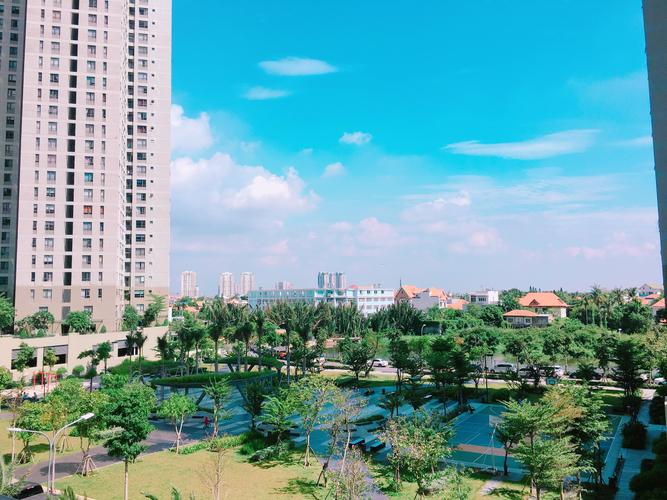 View căn hộ Masteri Thảo Điền, Quận 2 Căn hộ ghép Masteri Thảo Điền tầng 3 diện tích 175m2, đầy đủ nội thất.