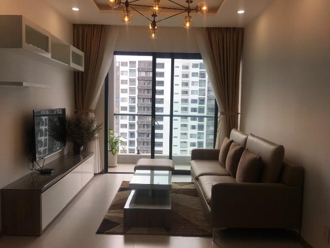 phòng khách New City Thủ Thiêm  quận 2 Căn hộ tầng 14 New City Thủ Thiêm nội thất đầy đủ, view thoáng