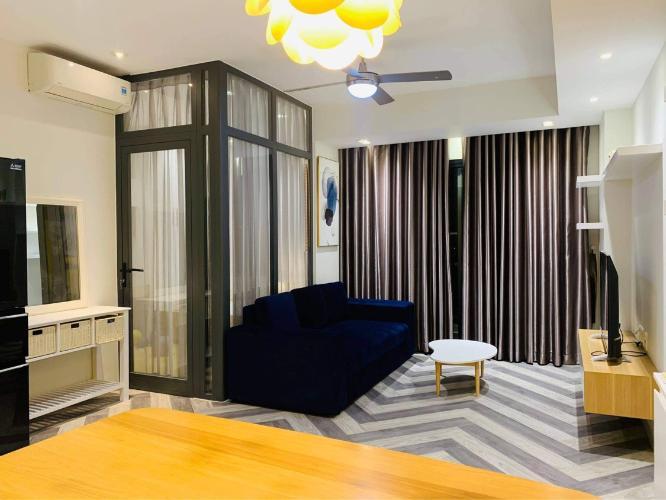 Căn hộ Masteri Thảo Điền tầng 29 view thành phố sầm uất, đầy đủ nội thất.