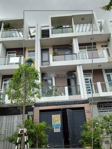 Nhà phố đường Đặng Thùy Trâm diện tích 68m2, bàn giao không có nội thất.