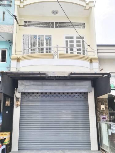 Mặt tiền nhà phố Quận Tân Phú Nhà phố có 1 trệt, 1 lầu mặt tiền đường Nguyễn Nhữ Lãm, không nội thất.