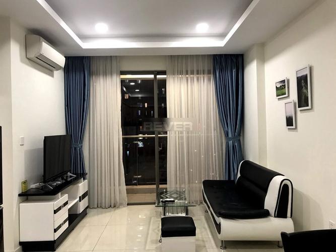 Căn hộ tầng 12 Masteri Millenium thiết kế sang trọng, đầy đủ nội thất.