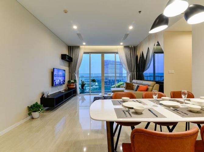 Căn hộ Sadora Apartment tầng 11 đầy đủ nội thất, cửa hướng Đông Bắc.