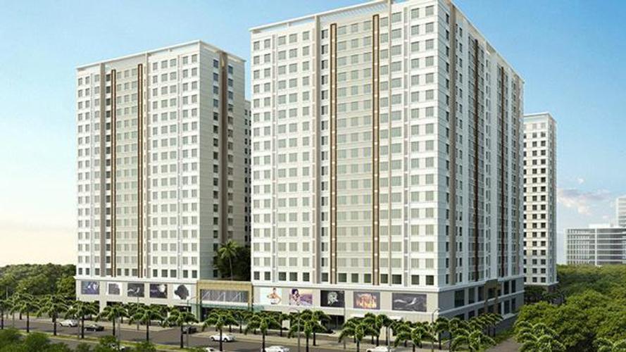 Căn hộ Topaz Home 2, Quận 9 Căn hộ Topaz Home 2 tầng 9 diện tích 56.44m2, nội thất cơ bản.