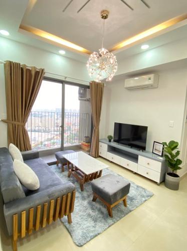 Căn hộ Masteri Thảo Điền tầng 30 view thành phố sầm uất, đầy đủ nội thất.