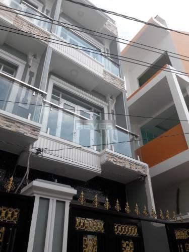 Nhà phố Huyện Nhà Bè Nhà phố cách chợ Phú Xuân 1.5km, cửa hướng Tây Nam thoáng mát.