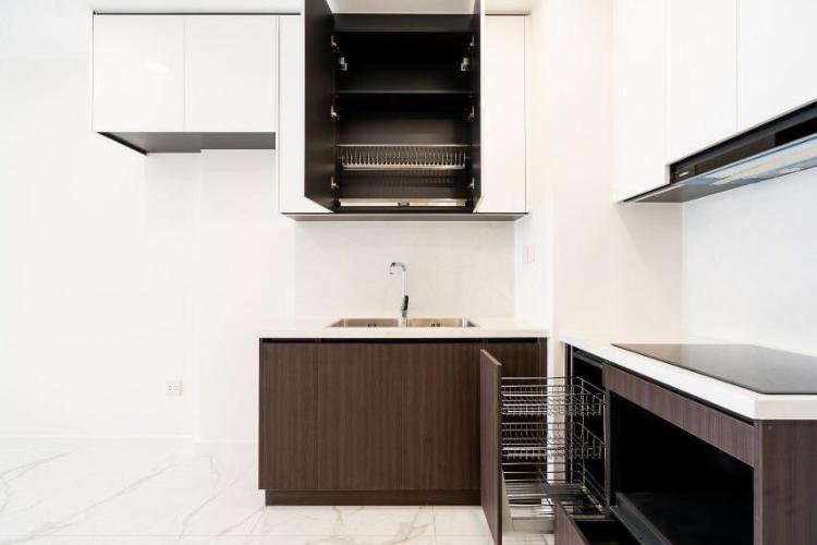 Officetel The Sun Avenue thiết kế hiện đại, nội thất cơ bản.