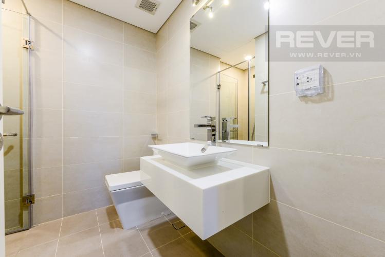 Phòng tắm 1 Cho thuê căn hộ Masteri Millennium tầng cao 2PN view sông