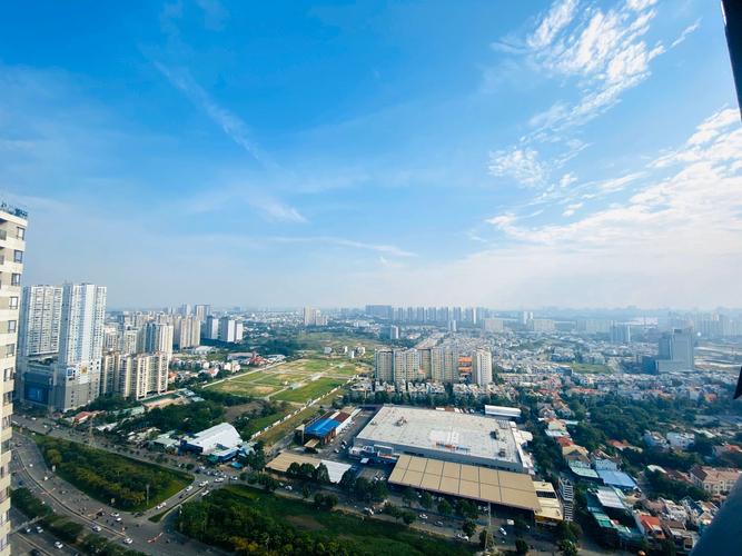View căn hộ Masteri Thảo Điền, Quận 2 Căn hộ Masteri Thảo Điền tầng 42, view thành phố sầm uất tuyệt đẹp.