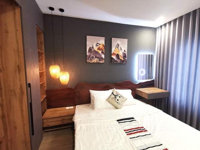 Căn hộ Vinhomes Grand Park, Quận 9 Căn hộ Vinhomes Grand Park tầng 20 thiết kế 2 phòng ngủ, đầy đủ nội thất.