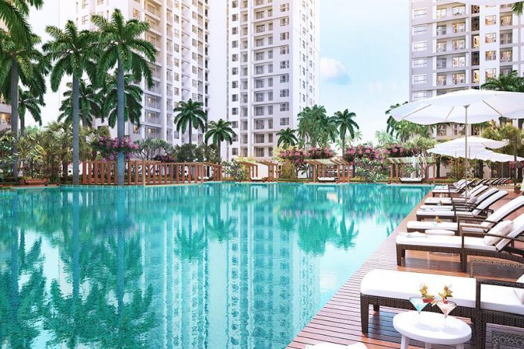 Tiện ích căn hộ Sunrise Riverside, Huyện Nhà Bè Căn hộ cao cấp Sunrise Riverside tầng 11 diện tích 70.43m2, đầy đủ nội thất.