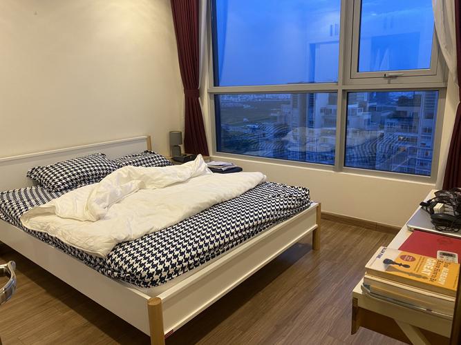 Căn hộ có 1 phòng ngủ Vinhomes Central Park tầng 38, đầy đủ nội thất.