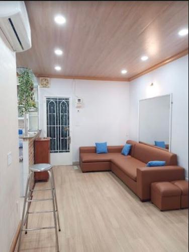 Căn hộ góc Chung cư Chu Văn An diện tích 65m2, đầy đủ nội thất hiện đại.