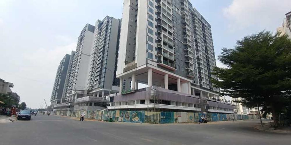 Căn hộ One Verandah, Quận 2 Căn hộ One Verandah tầng 7 có 2 phòng ngủ, view thành phố và sông.