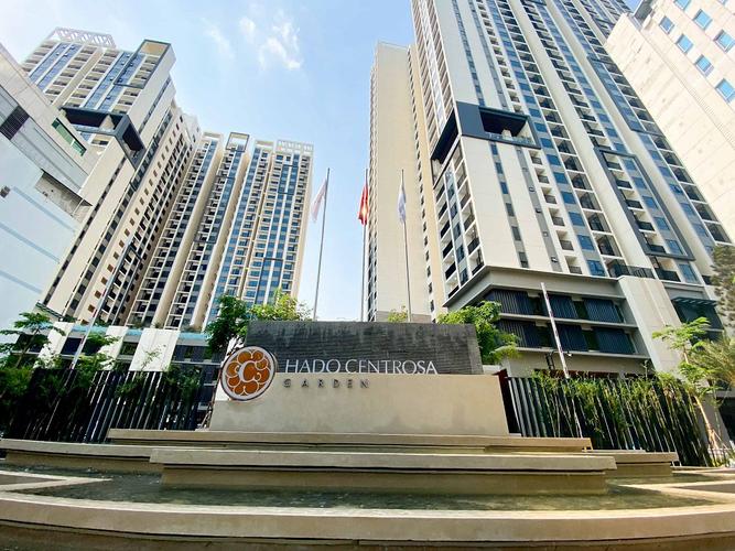 Căn hộ HaDo Centrosa Garden, Quận 10 Căn hộ tầng 12 HaDo Centrosa Garden diện tích 87m2, nội thất cơ bản.